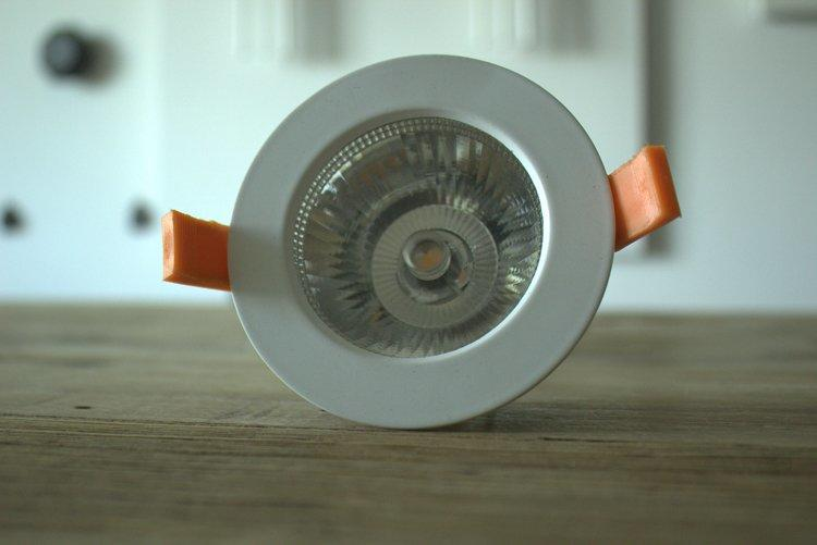 decorative led down light module large-size for hotels-2