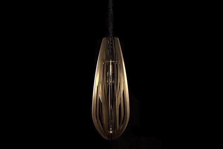 EME LIGHTING popular antique brass pendant light bulk production for living room-1