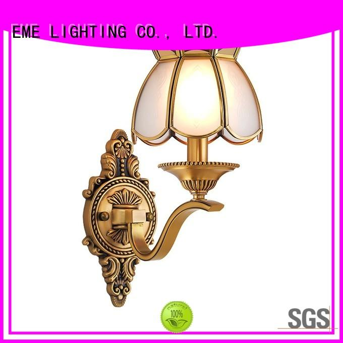EME LIGHTING brass sconce lights america style for restaurant