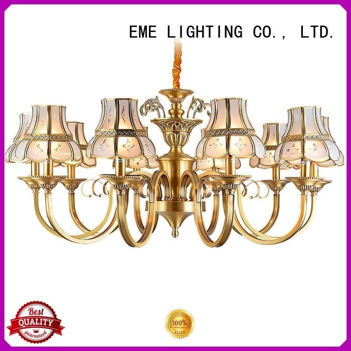 EME LIGHTING american style bronze crystal chandelier residential