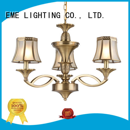 high-end antique brass chandeliers for sale round for big lobby