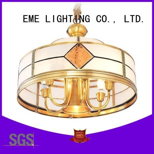 EME LIGHTING copper vintage brass chandelier unique