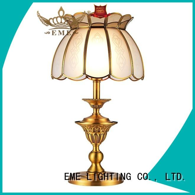 EME LIGHTING decorative glass table lamps for bedroom factory price for house