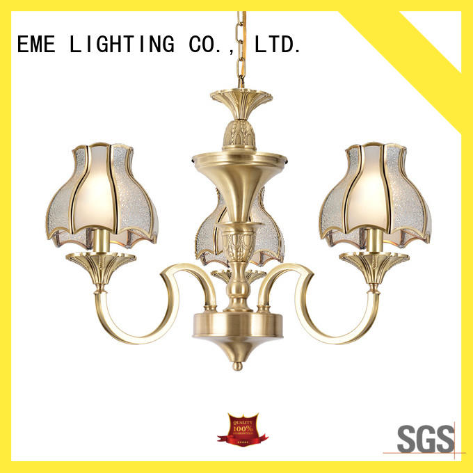 EME LIGHTING copper decorative chandelier traditional for home