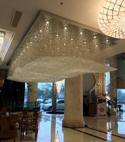 application-hotel lighting- custom lighting- chandelier-EME LIGHTING-img