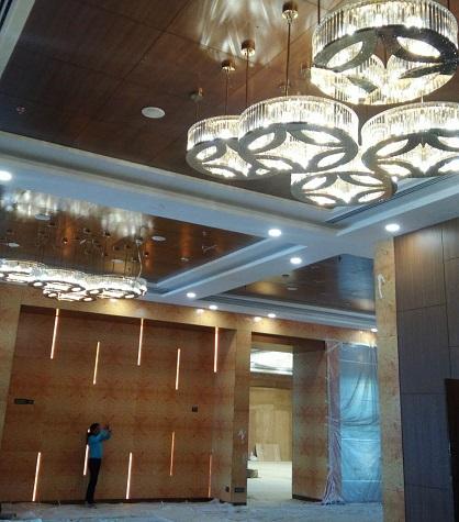 application-hotel lighting- custom lighting- chandelier-EME LIGHTING-img-2
