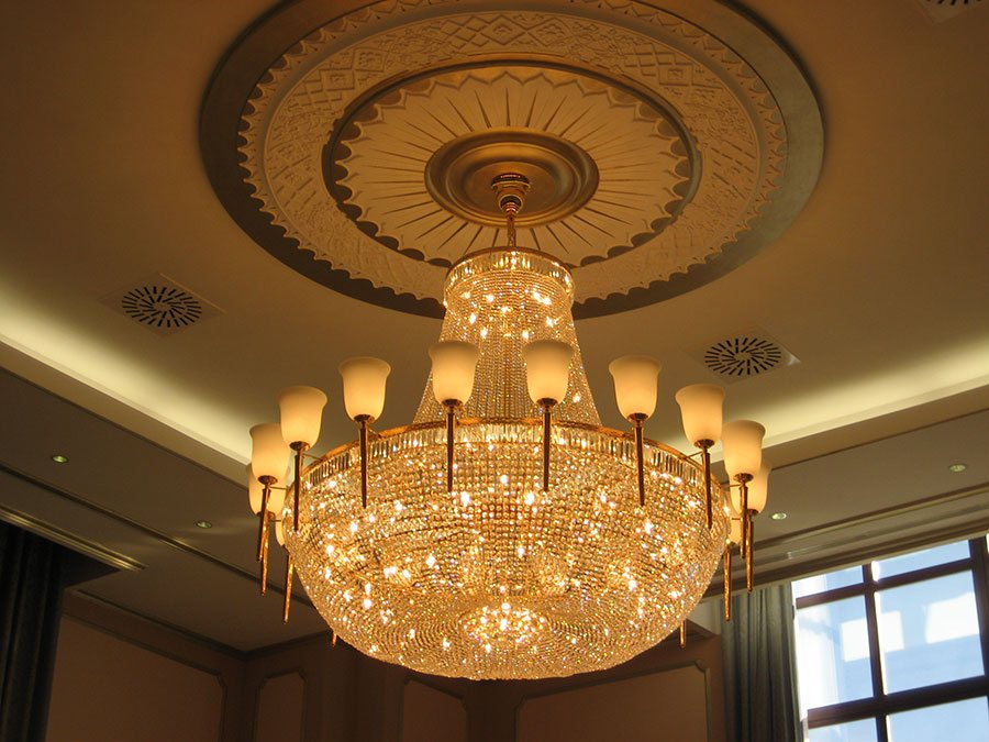 application-hotel lighting- custom lighting- chandelier-EME LIGHTING-img-1