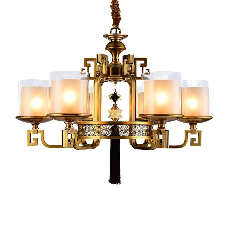 Glass Hanging Chandeliers (EYD-14210-6)