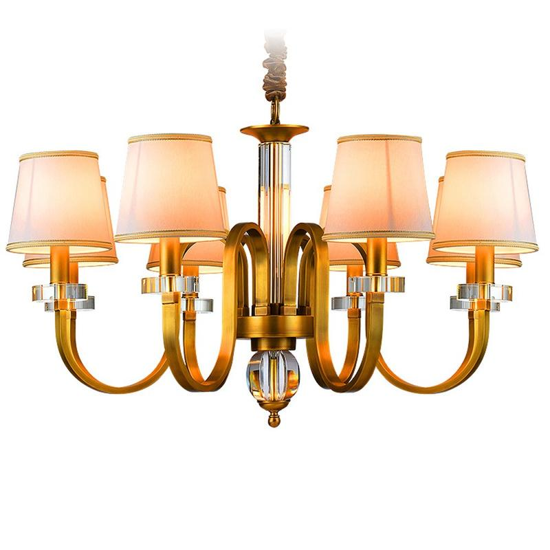 Solid Brass Traditional Chandeliers (EYD-14207-8)