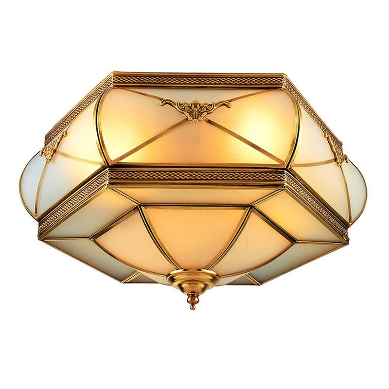 Modern Copper Ceiling Light (EOX-14111-500)
