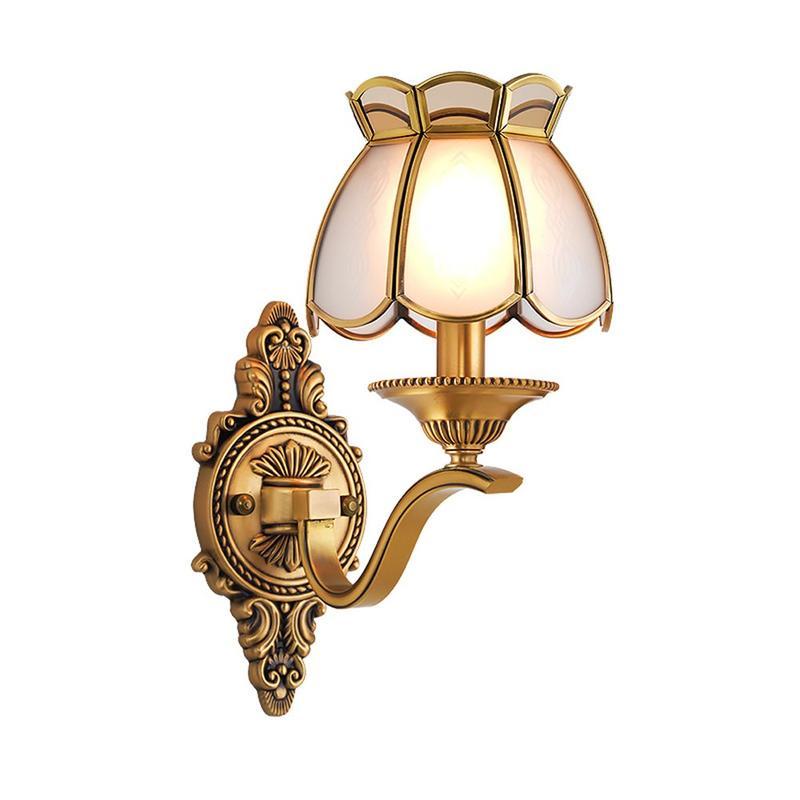 New Brass Wall Light (EAB-14011-1)