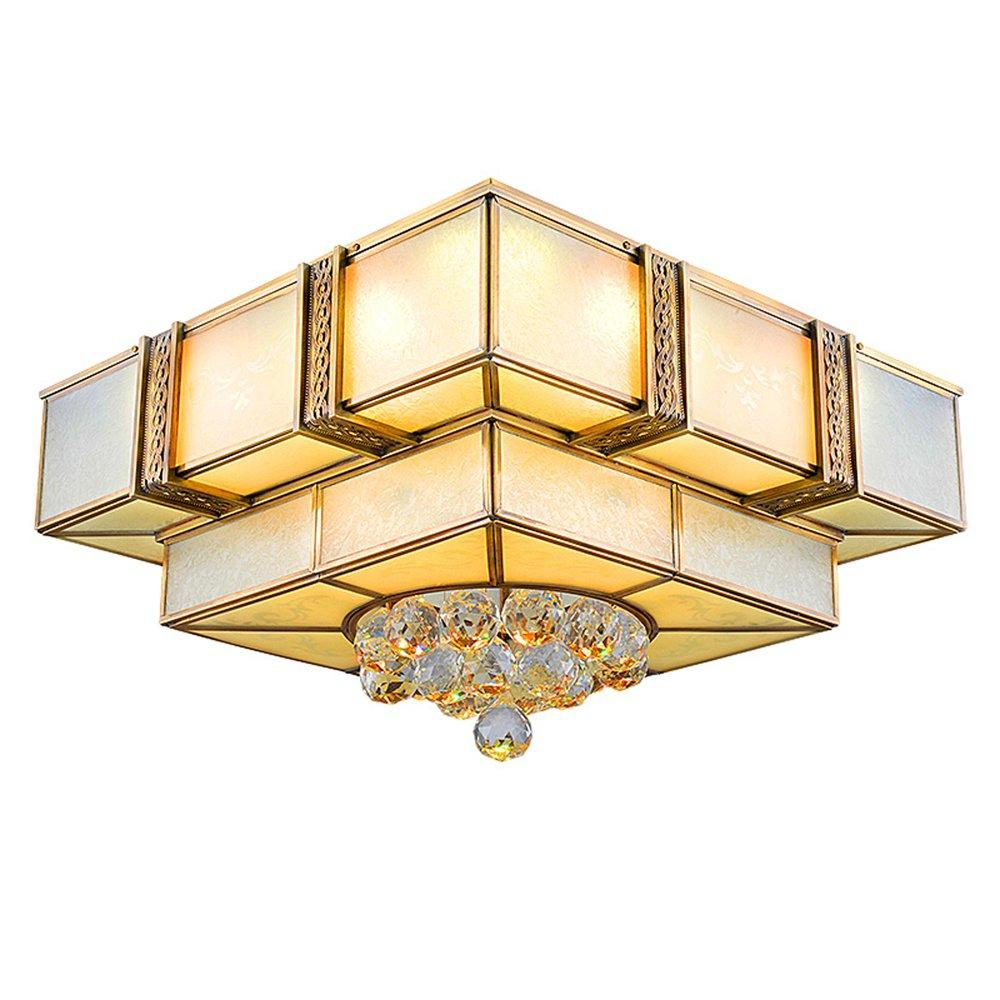 Square Copper Ceiling Light (EAX-14003-450)
