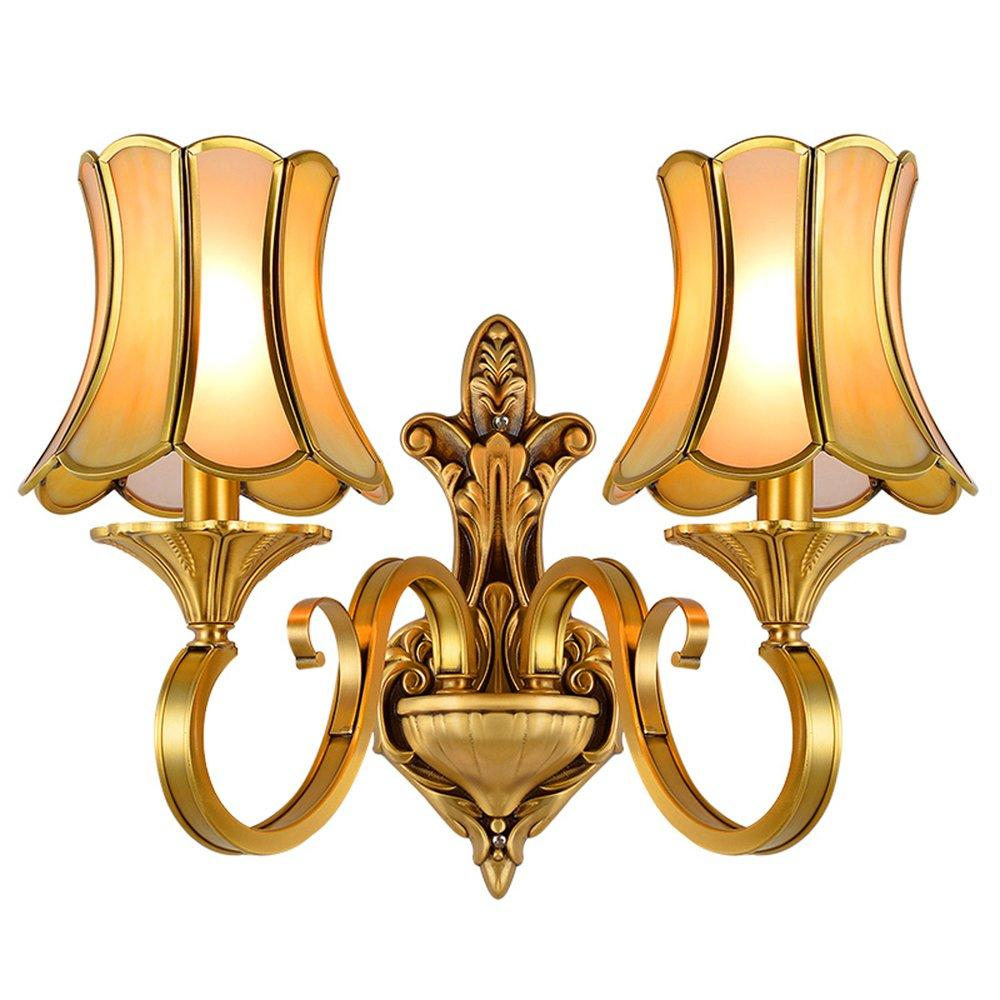 European Copper Wall Lamps with shades (EAB-14009-2)
