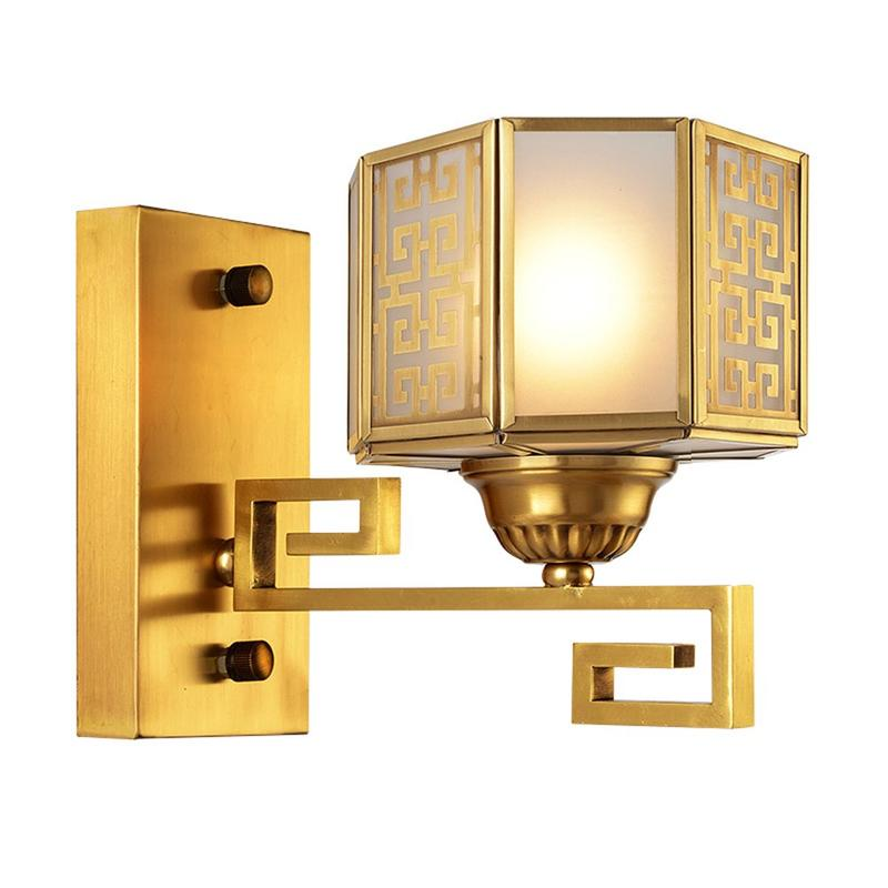 Brass Wall Light (EAB-14002-1)