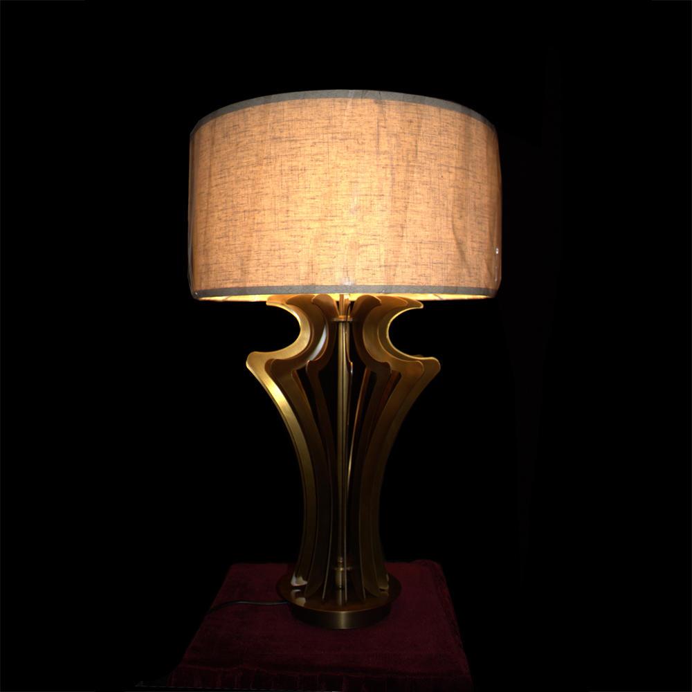 Copper Table Lamp (D420 H700)