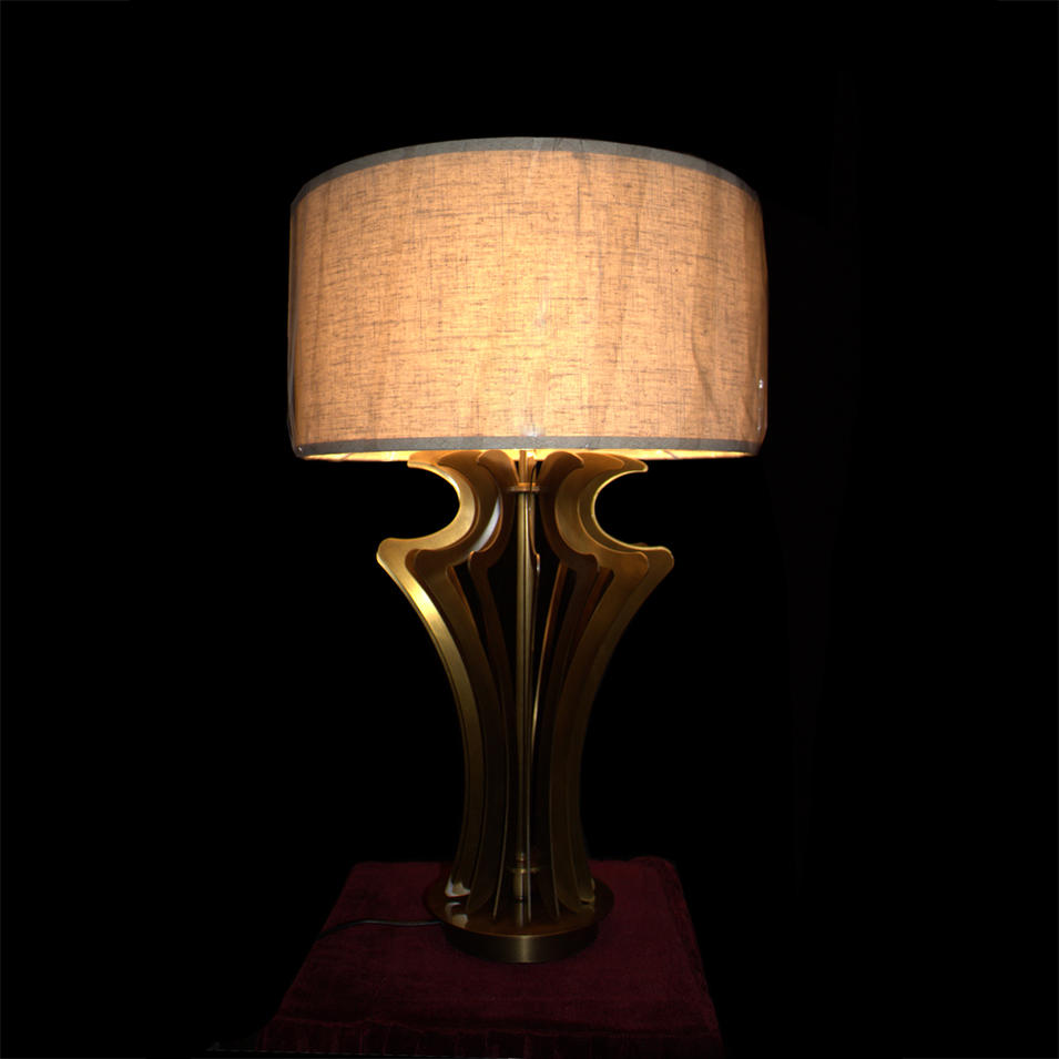 Copper Table Lamp (D420 H700)