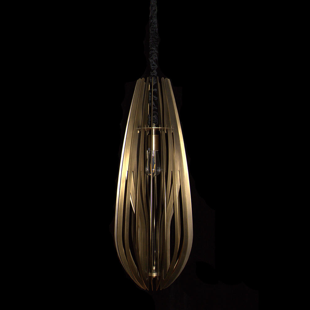 Copper Pendant light (D300 H800)