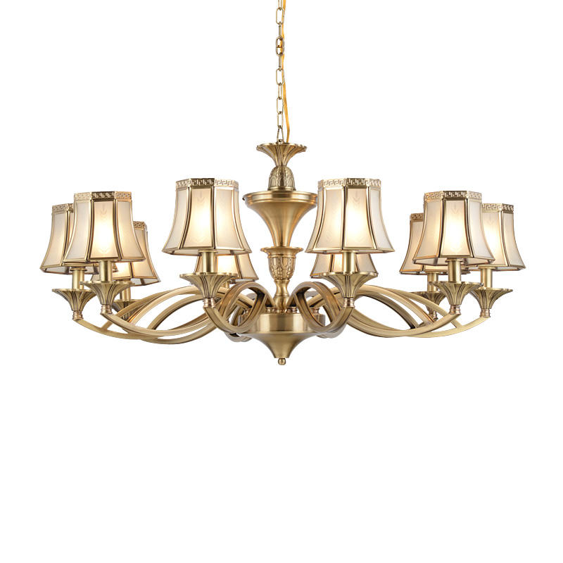 Copper Chandeliers (EAD-14007-10)