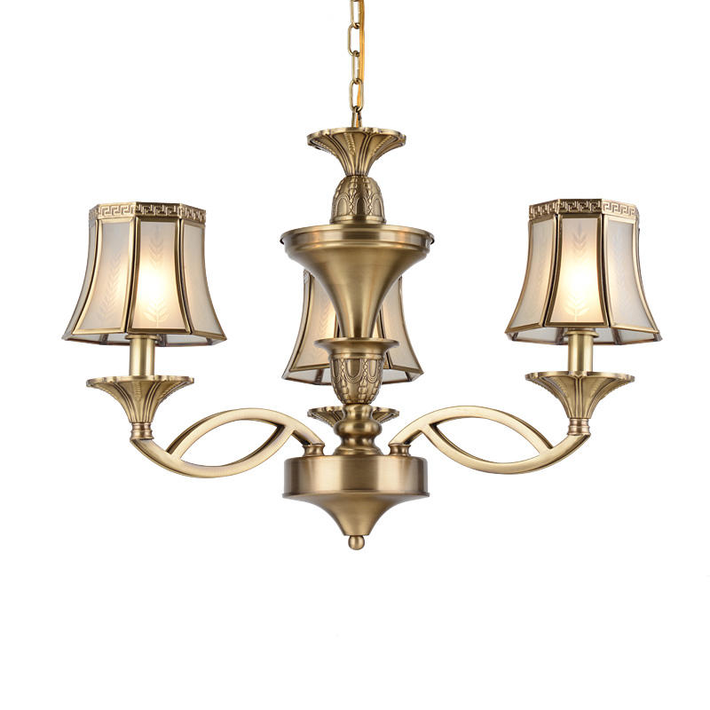 American Brass Chandeliers 2 Lights (EAD-14007-3)
