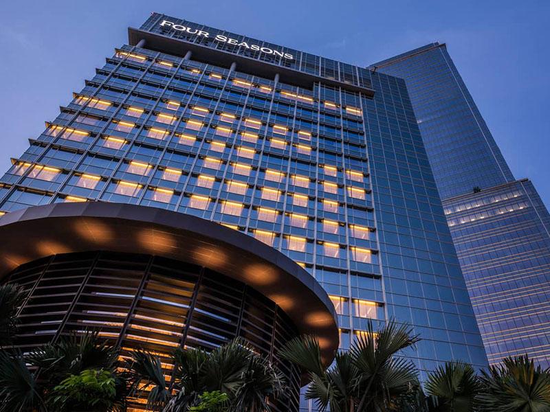 Four Seasons Hotel Jakarta, Indonesia