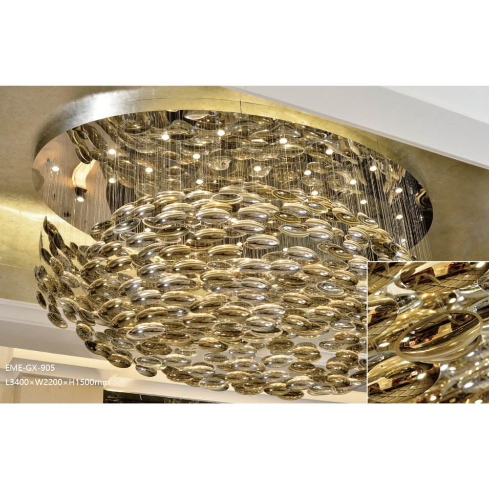 Modern Glass Chandelier(GX-905)