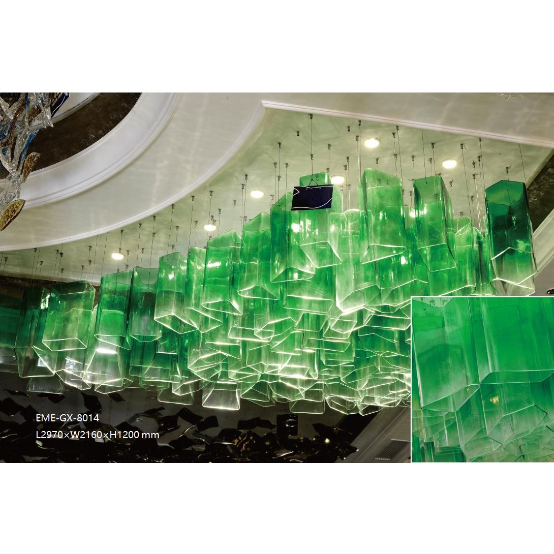 Modern Glass Chandelier(GX-8014)