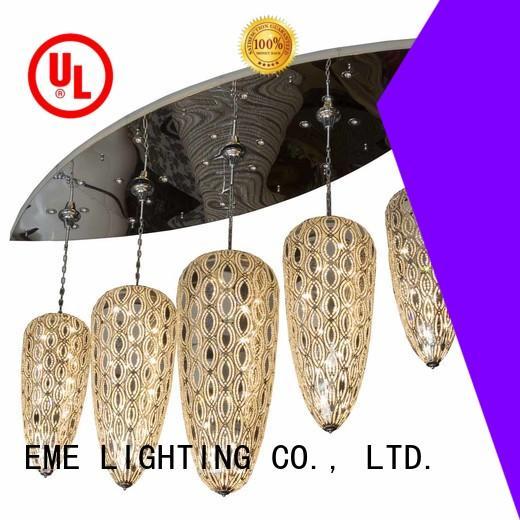 EME LIGHTING modern hotel lobby chandeliers latest design for dining room