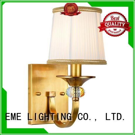EME LIGHTING copper dining room wall sconces for wholesale for indoor decoration