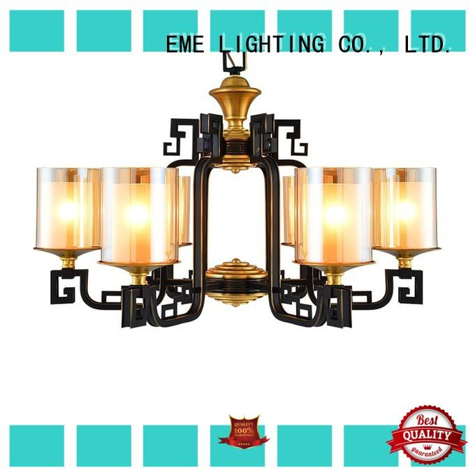 EME LIGHTING concise bronze crystal chandelier residential for home
