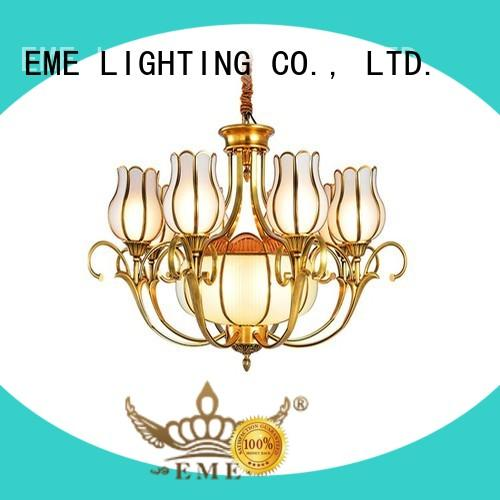 contemporary antique brass chandelier glass hanging traditional for big lobby