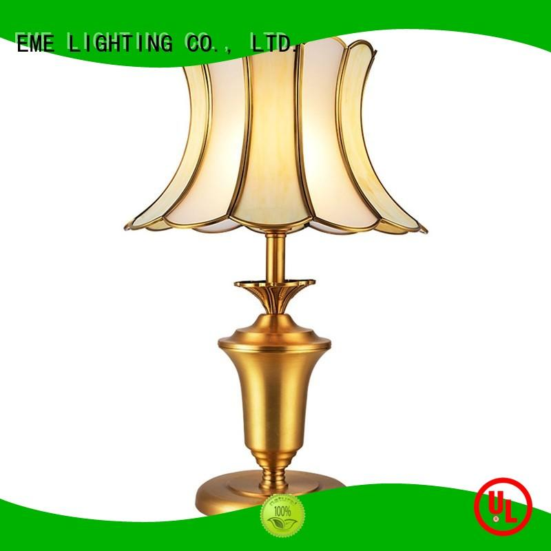 elegant western style table lamp factory price for house