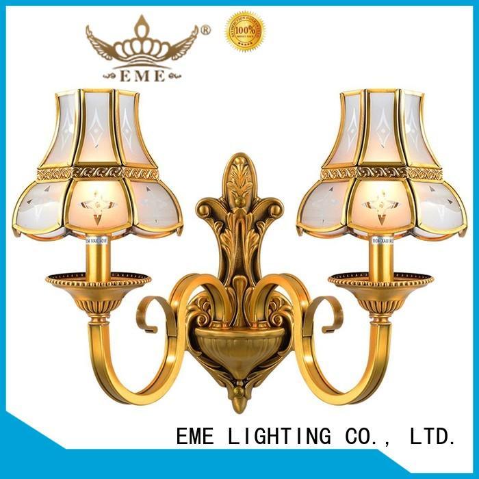 EME LIGHTING copper decorative sconces ODM for indoor decoration