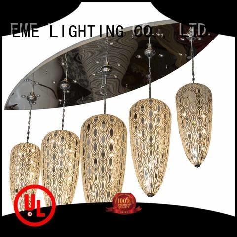 EME LIGHTING unique elegant chandelier bulk production for lobby