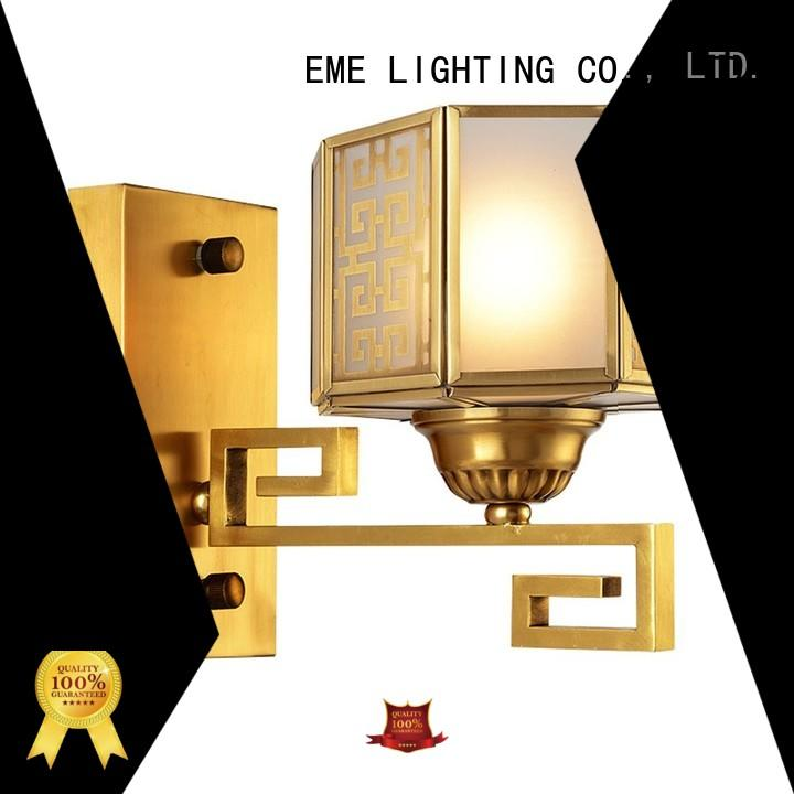 EME LIGHTING Brand traditional led copper dining room wall sconces