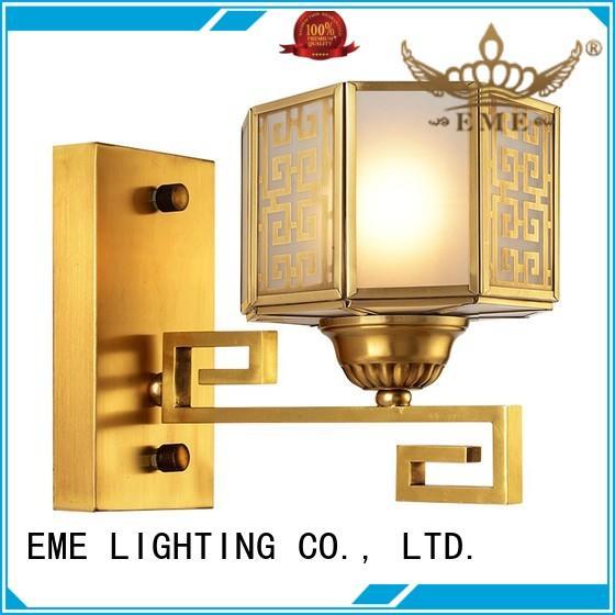 Hot unique gold wall sconces european hotels EME LIGHTING Brand
