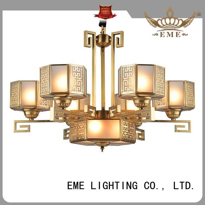 Quality EME LIGHTING Brand decorative chandeliers glass dinging