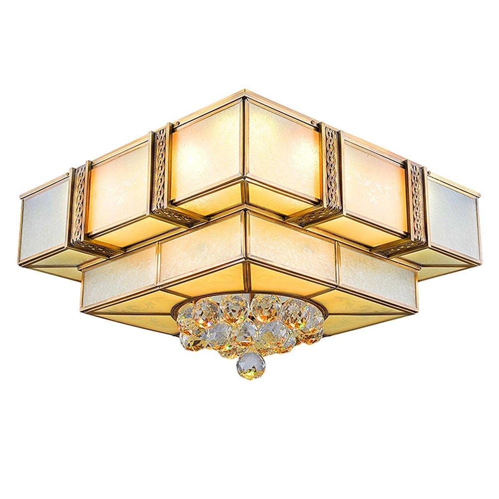 EME LIGHTING Square Copper Ceiling Light (EAX-14003-450) Ceiling Lights image161