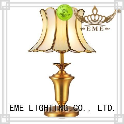 chrome and glass table lamps style wood western table lamps EME LIGHTING Brand