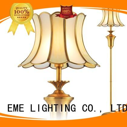 EME LIGHTING customized stand up lamps flower pattern for hotels