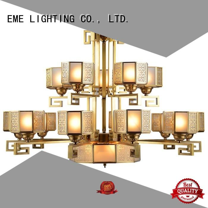country american chandelier EME LIGHTING Brand decorative chandeliers factory