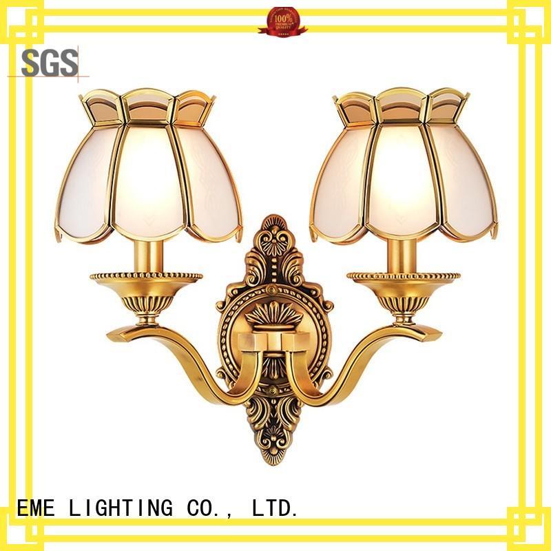 dining room wall sconces modern vintage brass Warranty EME LIGHTING