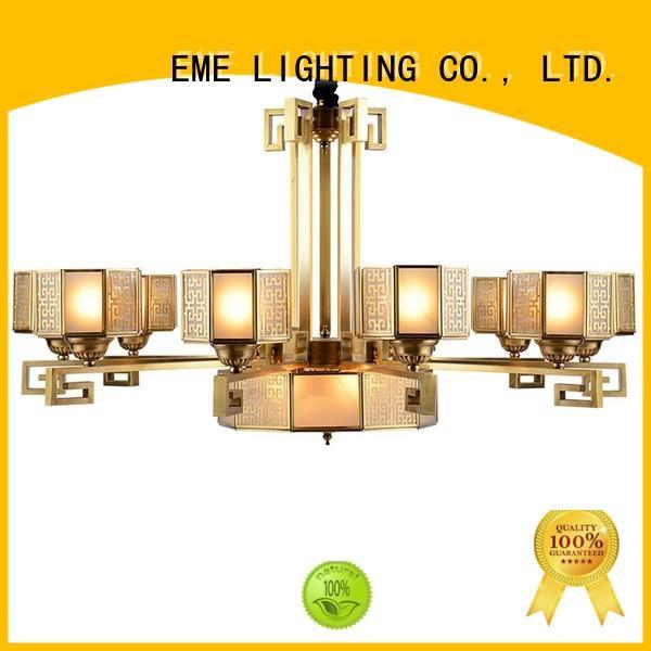 copper modern brass chandelier residential