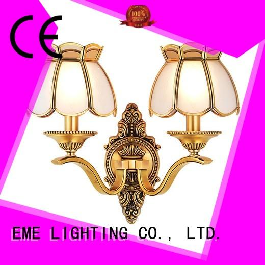Wholesale hotels dining room wall sconces country EME LIGHTING Brand