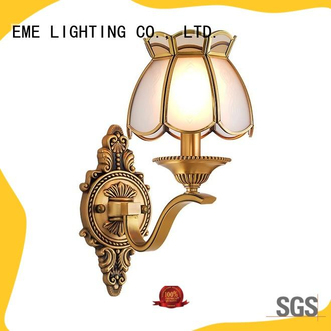 EME LIGHTING copper antique looking wall sconces free sample for restaurant