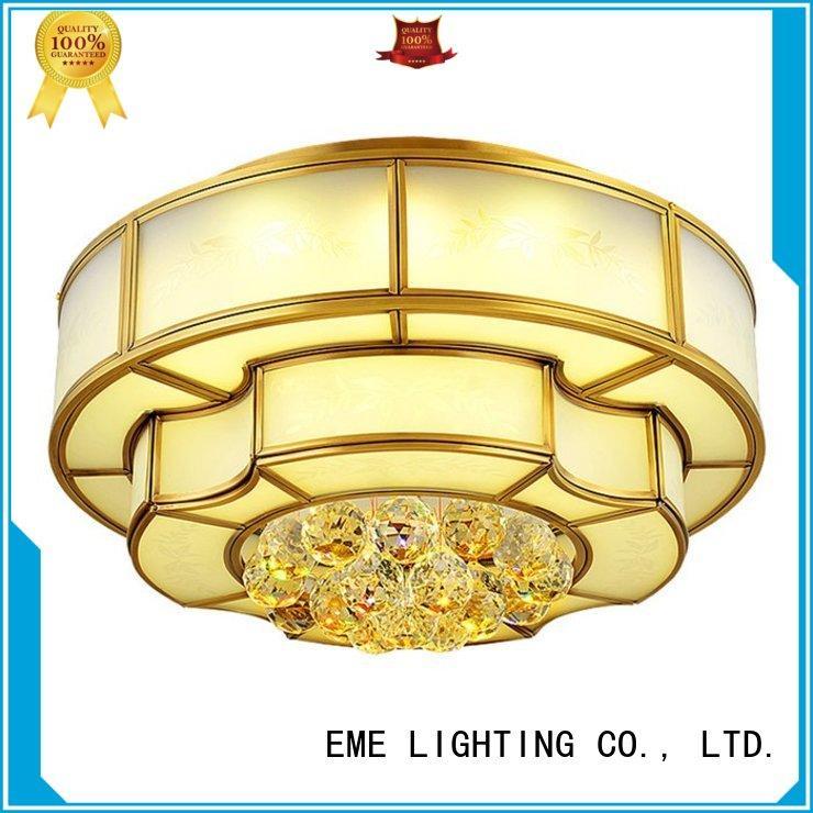 ceiling lights online led copper modern EME LIGHTING Brand brass ceiling lights