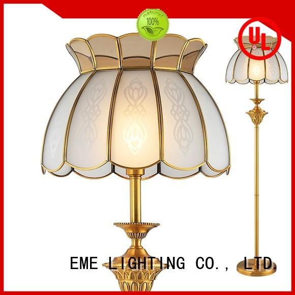 EME LIGHTING vintage unique lamps copper for bedroom