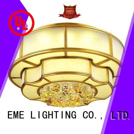 EME LIGHTING Brand customized brass ceiling lights decorative factory