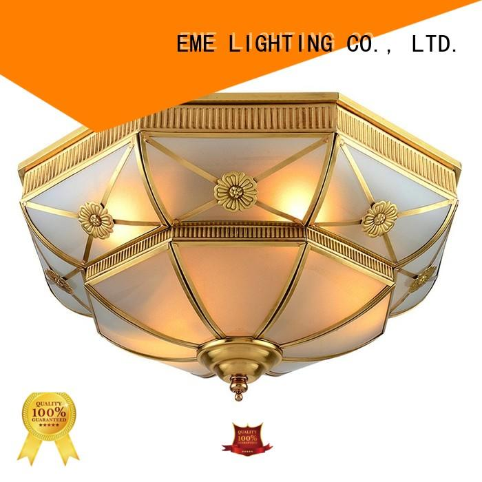 copper led square OEM brass ceiling lights EME LIGHTING