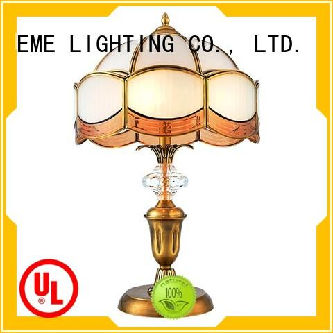 chrome and glass table lamps modern western table lamps EME LIGHTING Brand