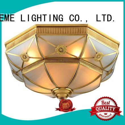 custom round highend EME LIGHTING Brand brass ceiling lights